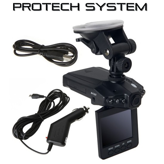 "1280P Hd 2.5"" LCD Night Vision CCTV In Car DVR Accident Camera Video Recor"