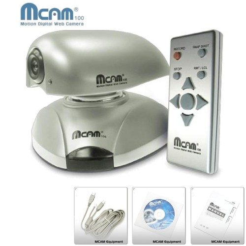 mCam100 Motion Digital Web Camera - Security & Monitoring